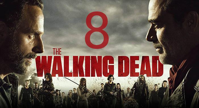 Постер 8 сезона Ходячих Мертвецов
